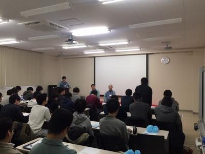 秋田県立大学の学生さんが弊社の工場を見学されました。