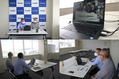 【採用】秋田県主催の「オンライン合同就職面接会」に参加しました
